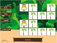 Safari matching game online